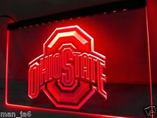 Ohio State Buckeyes Football LED Neon sign night Light  home Bar Man Cave Gifts
