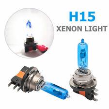 2x H15 55W DRL High Beam Ampoule VW Golf BLANC Xenon halogènes Phares Lampe 12V