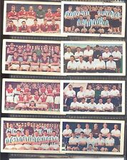 Soccer Bubble Gum - Soccer Teams, No 1 Series - Set in F/G condition