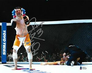 Kazushi Sakuraba Signed 8x10 Photo BAS Beckett COA Pride FC Dream UFC Autograph