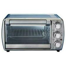 6 slice Oster Countertop Oven XL with Convection, Stainless Steel Used