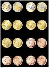 Kursmünzensatz Estland 2011 1c-2 Euro + 1 ;2 cents 2012 + 2015 alle 12  Münzen