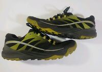 MERRELL UNIFLY Mens Hiking Trail Athletic Shoes Gray Green Black Size 11.5
