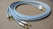 SUPRA 4.0 Classic Speaker Cables 2.5m Pair Terminated