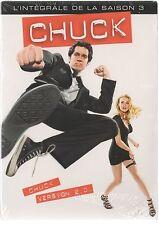 CHUCK  -  Intégrale saison 3 - Coffret 1 boitier Classique - 5 DVD - NEUF