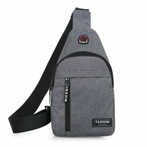 Shoulder Bags Nylon Waist Daily Picnic Canvas Messenger Crossbody Outdoor Sports