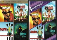 Family Fun Collection (OOP 2-Disc, 4 Films, 2011 DVD) Rare Slipcover, Mint Discs