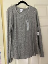 Old Navy Soft Ribbed Grey Sweater - Women's XL