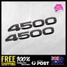 2x TOYOTA LANDCRUISER 4500 series Vinyl Decal Sticker Car 255mm TRD 4x4