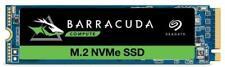 Seagate BarraCuda 510 500GB PCIe NVME M.2 SSD 500GB Capacity ZP500CM3A001