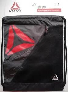 Reebok Gym Sack Backpack Bag Performance Training Workout Athletic Sports Beach