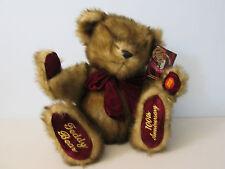 "Dan Dee Teddy Bear 100th Anniversary Talking Stuffed Animal Plush 15"""