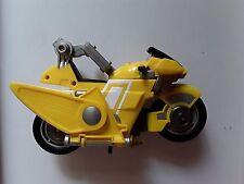 Power Rangers Ninja Storm Glider Cycle Moto jaune yellow 2002 Bandaï