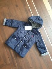 Boys Jojo Maman Bebe Lightweight Coat Jacket Navy  Age 2-3 Years BNWT -FREEPOST