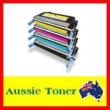 4x HP Generic Q6460A Q6461A Q6462A Q6463A LJ 4730 Toner Cartridge