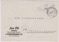 Germany 1945 Bermatingen to  Friedrichshafen  stamps cover R20644