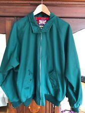 Green Combat Harrington Style Jacket Size L
