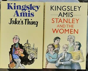 Kingsley Amis JAKE'S THING / STANLEY AND THE WOMEN 1st Editions Hutchinson HB