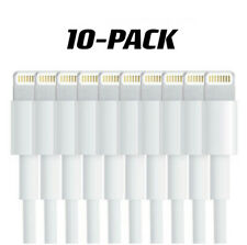 【10-Pack]Charging Cable Charger Cord for Apple iPhone XR X Xs MAX 8 7 6 6S PLUS