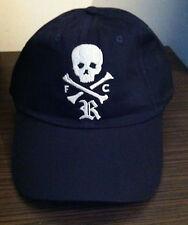 Rare Rugby Ralph Lauren 100%Cotton Pin Stripe Shirt Skull Crossbones Cap New