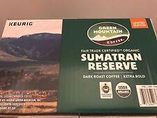 Green Mountain Coffee Sumatran Reserve, Dark Roast, Keurig K-Cups, 54ct Limited