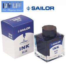 Sailor Fountain Pen Blue Ink Bottle 13-1007-240 Square bottle
