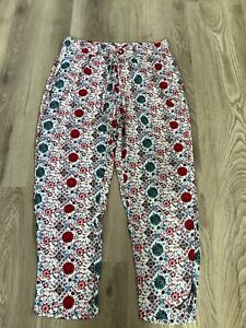 Ladies Summer Trousers Size 14 Elasticated Waist