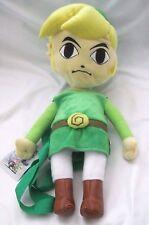 """Legend of Zelda Link 19"""" Plush Backpack Tote-Licensed Product-NEW!"""