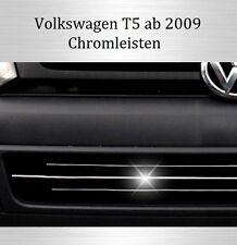 VW T5 - 3M Chrom Leisten Kühlergrill Zierleisten Chromleisten Streben Typ3