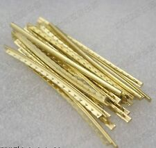 21 pcs Frets For Acoustic Guitar Gold Copper Fret Wire Fingerboard Frets-2.2mm