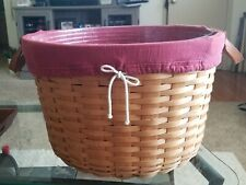 Longaberger 2002 Classic Hostess Pot of Gold Basket Combo (Liner Protector)