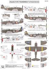 Berna Decals 1/72 REPUBLIC P-47D THUNDERBOLT IN FRENCH SERVICE