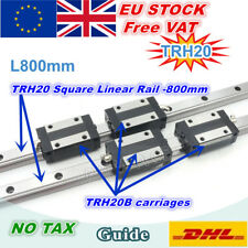 【EU】Square Linear Guide Rail TRH20 800mm for CNC Router Machine +TRH20B Carriage