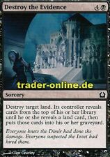 4x Destroy the Evidence (preuves détruire) return to ravnica Magic