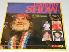 LP willie NELSON country show VOL.4 success HOLLAND 1986 messina GARTH jennings