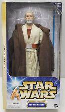 "STAR WARS Hasbro 2003 Obi Wan Tatooine Encounter 1/6th 12"" Action Figure NIP"