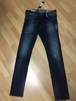 NWT Mens Diesel TEPPHAR Ultra Soft Stretch Denim 084GF DarkBlue Slim W29 L32 H6.