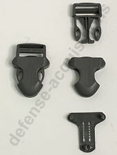 """1"""" ITW Side Release Surface Mount Surmount Military Pouch Buckle FOLIAGE"""