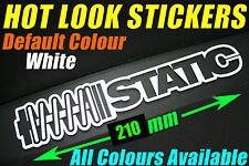 Static Sticker Decal JDM Koni Bilstein KW Tein Coilover Shockers Low Stance  GTR