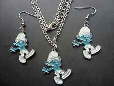 Collares y colgantes de bisutería colgantes color principal azul de aleación