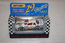 Matchbox White Rose Racing 1993 Phil Parsons 29 Craig Hill's Limited Edition Nib