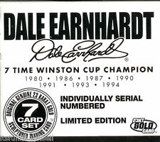 DALE EARNHARDT 23 KT GOLD CARD 7 TIME WCC CHAMPION #0075