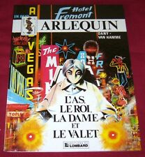 ARLEQUIN - L'AS, LE ROI, LA DAME ET LE VALET- DANY VAN HAMME - EO - Ref 20024