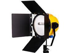 Pro 2000W Fresnel Yellow Head Studio Video Light lighting photography kit