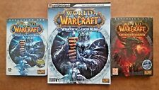 World of WarCraft:  Wrath of The Lich King / Cataclysm (PC, 2008) & Guide Book