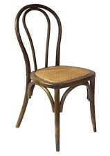 Classic Thonet Bentwood Chairs with Rattan Seat-Walnut