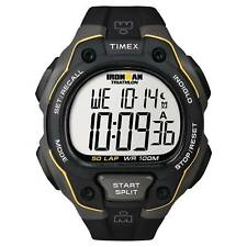 Timex T5K494 Ironman Triathlon 50 Lap 3 Alarm Chronograph Watch