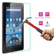 9H+ Premium Tempered Glass Screen Protector For Amazon Kindle Fire 7 HD 2015