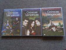 SERIE DVD - CRONICAS VAMPIRICAS - 3 TEMPORADAS - LOVE SUCKS - RARE - ESPAÑA
