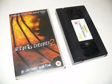 VHS Video ~ Jeepers Creepers 2 ~ Ray Wise / Johnathan Breck